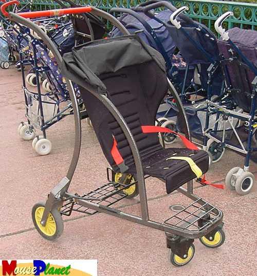 alquilar sillas niños disneyland