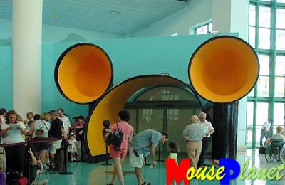 The Mouse is everywhere at the Disney Cruise Lines.