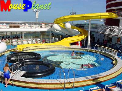 The kid's pools on the Disney ships are spectacular.