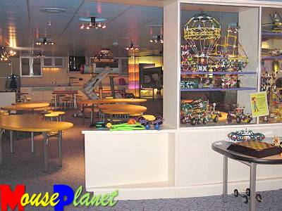 The Oceaneer's Lab is one of the dedicated children's areas on the Disney ships.