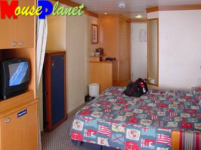 An Outside stateroom.