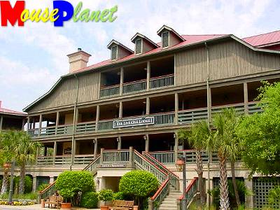 Live Oak Lodge, the resort's main building.