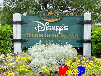 Disney's Hilton Head Island Resort is the only Disney resort in the U.S. that is outside of California and Florida.