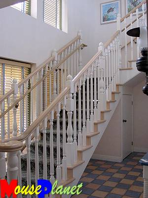 Beach Cottage Staircase