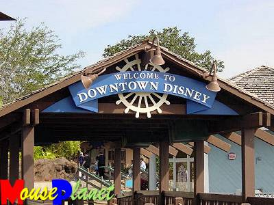 Downtown Disney beckons the WDW visitor... and their pocketbooks!