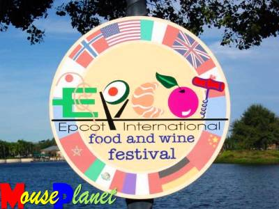 Epcot food and wine poster