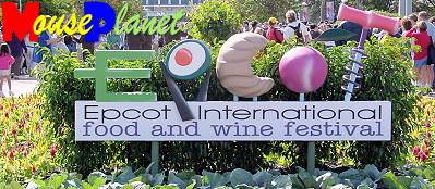 The Epcot International Food and Wine Festival spans the world's cuisine.