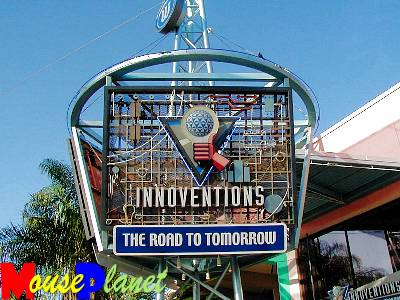 Disney world 12 jours de rêves en image Innoventions_marquee