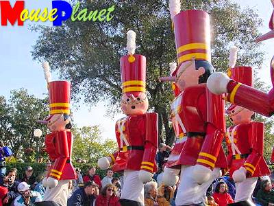 Toy Soldiers in Mickey's Very Merry Christmas Party Parade