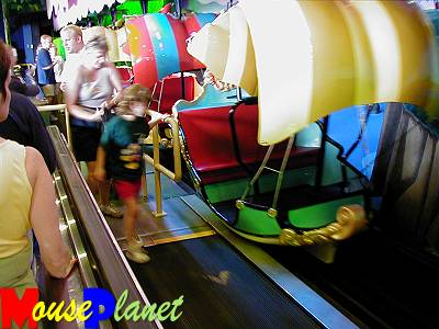 walt disney world rides pictures. A ride operator immediately