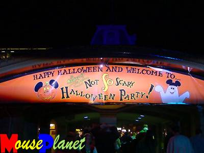 Mickey's Not-So-Scary Halloween Party is held at the Magic Kingdom