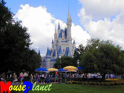 Cinderella's Castle, at the Magic Kingdom.