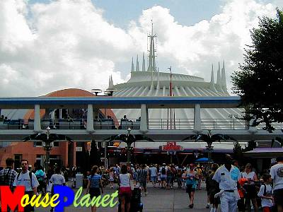 Space Mountain, one of the Magic Kingdom's original E-Ticket attractions.