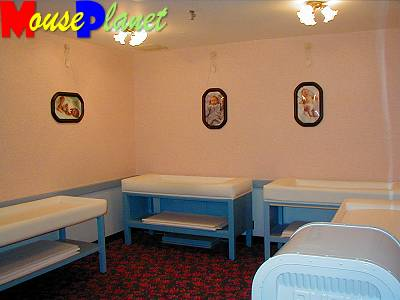 The Magic Kingdom's Baby Care Center changing area ...