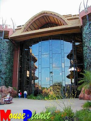 Disney world 12 jours de rêves en image Exterior_view_of_observation_wall_closeup