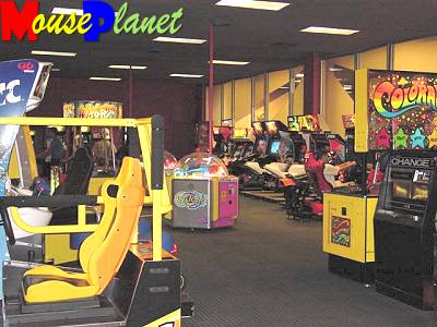 The arcade in the Fiesta Fun Center (photo by Sue Holland)