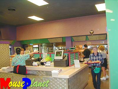 The Food & Fun Center's counter service area