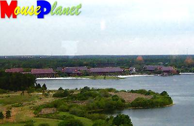 The Polynesian viewed from the California Grill