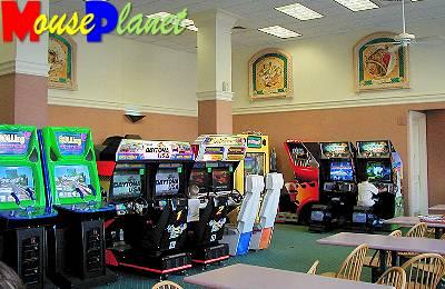Gasparilla Grill arcade