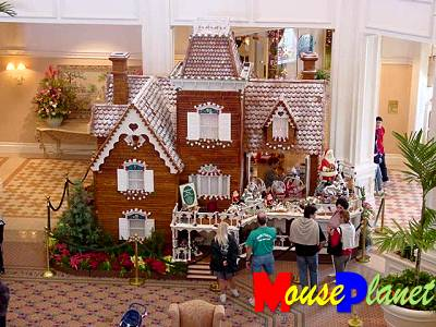 The Gingerbread House Shop at the Grand Floridian Resort & Spa