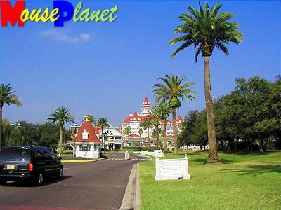Grand Floridian approach