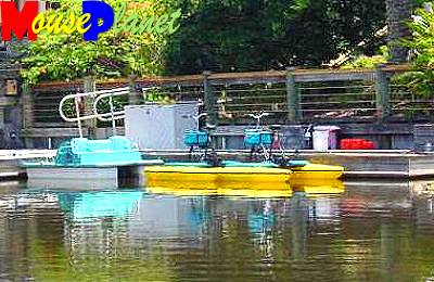 Pedal boats can be rented by the hour (photo by Sue Holland).