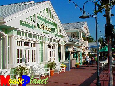 OKWR's restaurants and shops are located on Turtle Krawl (Photo by Brian Bennett)