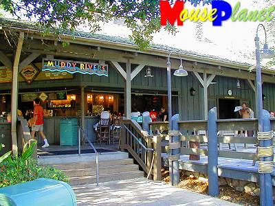 Muddy Rivers snack bar.