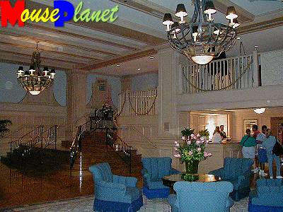 The Yacht Club lobby.