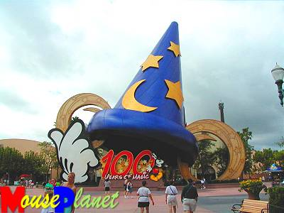 Mickey's Hat is the Icon for the 100 Years of Magic Celebration