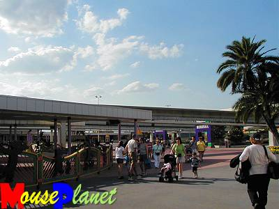 The Ticket and Transportation Center is the Magic Kingdom Hub